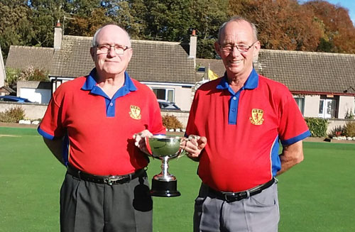 Rattray Bowling Club - Strathmore Senior Pairs Champion of Champions winners