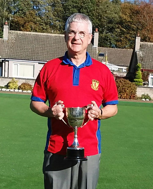 Rattray Bowling Club - Strathmore Senior Singles Champion of Champions winner