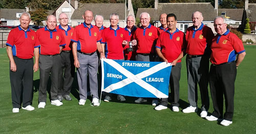 Rattray Bowling Club - Strathmore Senior League Winners