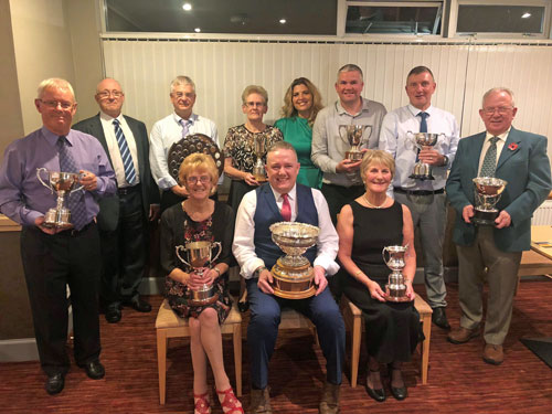 Rattray Bowling Club - 2018 trophy winners